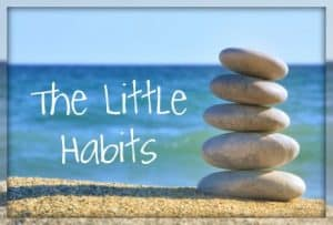 Little habits matter
